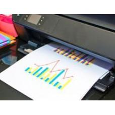 Цветная печать односторонняя